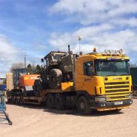 haulage loading shovel